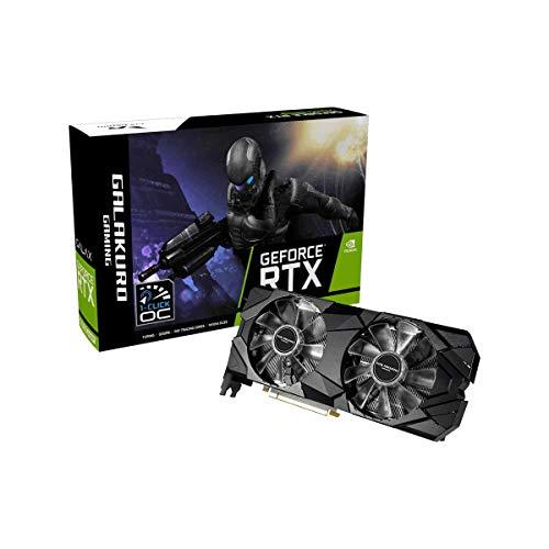 玄人志向 NVIDIA GeForce RTX 2080 SUPER 搭載 グラフィックボード 8GB デュアルファン GALAKURO GAMINGシ...