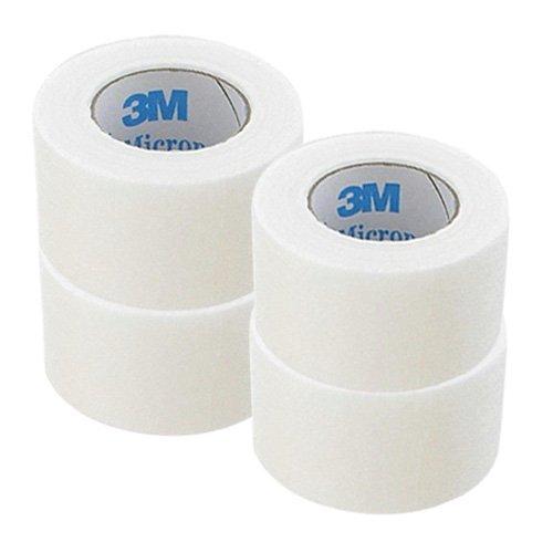 3M マイクロポアーサージカルテープ ホワイト 1530-1(全長9.1m×幅2.5cm) (4個セット)