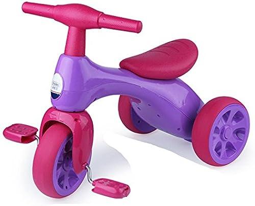 Kinder Dreirad fürrad 1-3 Jahre Alte Baby-Kind-Spaßierg er-3 Rad-Roller,Rosarot
