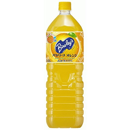 アサヒ バヤリース オレンジ ペット1.5L1箱8本