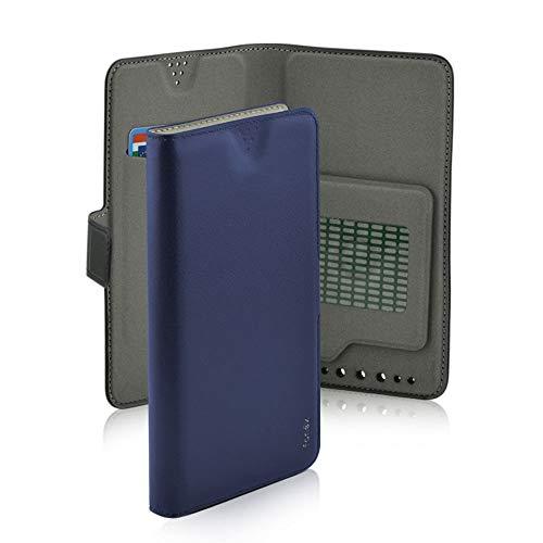 Custodia universale per smartphone da 5.6' a 6.2' Fonex Twin Colore Blu