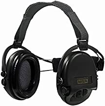MSA Sordin Supreme Pro X with black cups - Neckband - Electronic Earmuff, slim-design