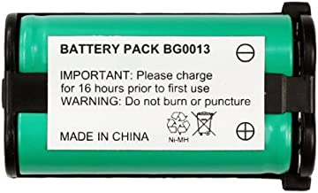 SPS Brand 3.6V 800 mAh Replacement Battery for Radio Shack//Tandy TAD-3887 CordlessPhone 2 Pack