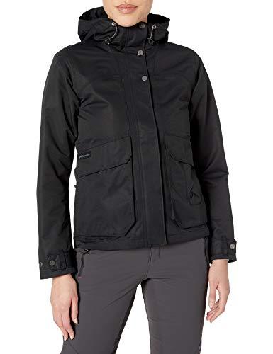 Columbia Women's South Canyon Hooded Jacket, Black, X-Large