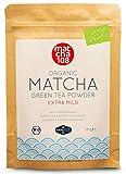 Matcha Tee Pulver | Bio Zeremonie Qualität für extra milden Teegenuss | Ideal für Tee, Smoothies und Lattes | 58g, Zertifiziertes Grüntee-Pulver [Ceremonial Grade Green Tea] von Matcha 108