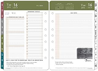 Classic 7 Habits Daily Ring-Bound Planner - Jul 2019 - Jun 2020