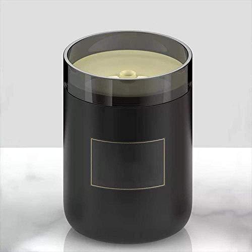 LY88 Car Cleaning Mini luchtbevochtiger desktop kandelaar thuis auto luchtreiniger nachtlampje thuiskantoor zwart