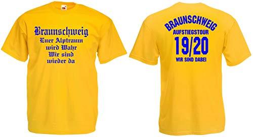 Braunschweig Herren Aufstiegstour 2020 Ultras T-Shirt