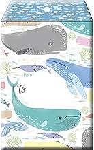 Jillson Roberts 6-Count Medium Tyvek Padded Mailer Shipping Envelopes, Whale That's Nice