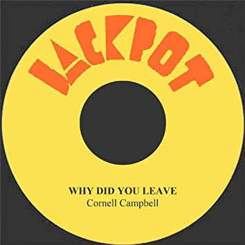Why Did You Leave