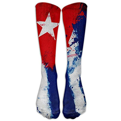 Vince Camu Cuba Cuban Art Flag Calzini Sottili Da Equipaggio Calzini Tubolari Calzini Eleganti Per Donna Uomo