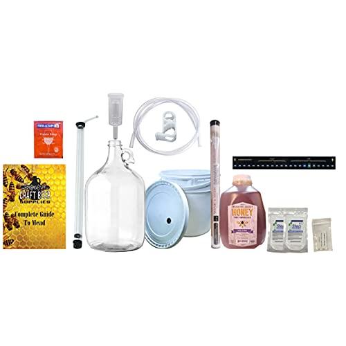 HomeBrewStuff One Gallon Nano-Meadery Premium Mead Kit