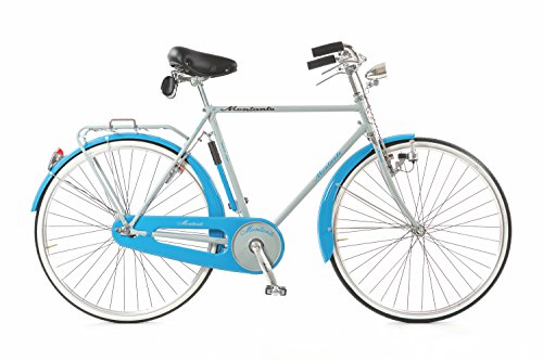 MONTANTE CICLI Spirit R, Bike Uomo, Grigio/Azzurro, M