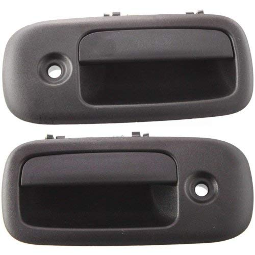Exterior Door Handle for Express Van 03-17 / Savana 03-16 Front Right and Left Side Outside Textured Black