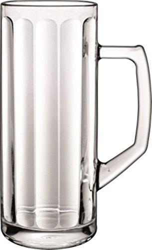 6 Bierseidel Reno Optik in versch. Größen erhältlich - geeicht Größe 0,3L geeicht