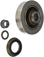 APDTY 708612 Driveshaft U-Joint To Rear Axle Differential End Yoke & Pinion Seal Fits Models With 11.5 Inch Rear Ring Gear & 30mm U-Joint Bearing Cap 04-05 Silverado or Sierra 2500 (Replaces 12471501)