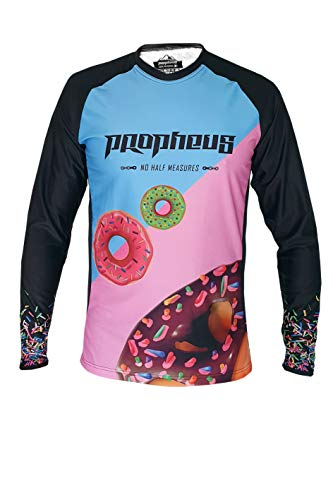 PROPHEUS MTB/MX Kids Kinder Jersey Sweet Treats Light Langarm Downhill, Enduro und Motocross (Kids L)