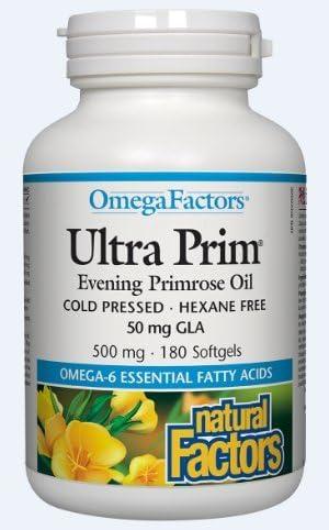 NATURAL FACTORS cheap Charlotte Mall Ultra Prim Count 500 180 Mg