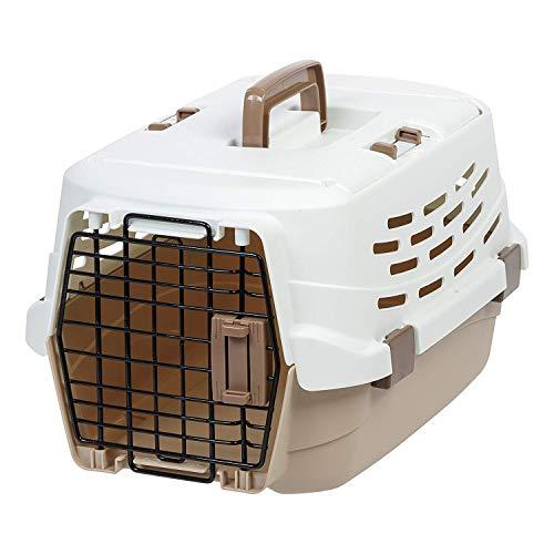 Iris Ohyama, Trasporto per Cani e Gatti con 2 Aperture, di Cui 1 in Alto Max 5 Kg
