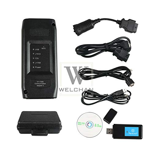 Great Features Of Communication Adapter With Wi-Fi for Perkins Heavy Machine Diagnostic tool Scanner...