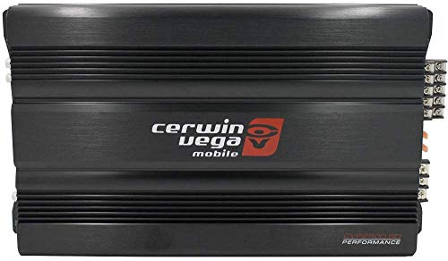 CERWIN Vega CVP2500.5D CVP Series 5-Channel Class-D Amplifier (1100W Rms)