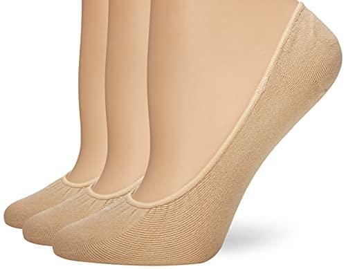 Hue Women's Ergonomic Hidden Cotton Liner (Pack of 3)