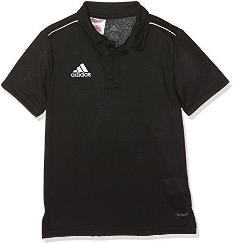 adidas Kinder Core 18 Poloshirt, Black/White, 164