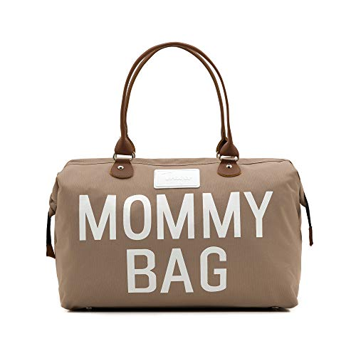 of baby lovess baby bags for moms CHQEL Baby Diaper Bag, Mommy Bags for Hospital & Functional Large Baby Diaper Travel Bag for Baby Care (Beige)