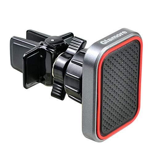 Glamore Magnetic Car Phone Mount, Magnetic Phone Car Mount, Car Phone Mount Magnetic, Magnetic Car Mount Holder for Smart Phones (1 Pack)