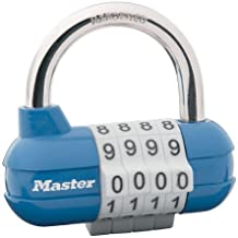 Master Lock 1523D Set Your Own Combination Padlock, 1 Pack,  Assorted Colors