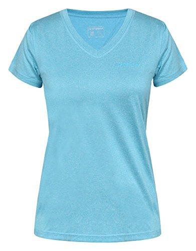 Icepeak Sosie Hemden und Shirts, Damen XXXL Blau (Celeste)