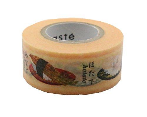 Ajapanese Maste Washi tape standard di Mark sushi e frutti di mare Edition