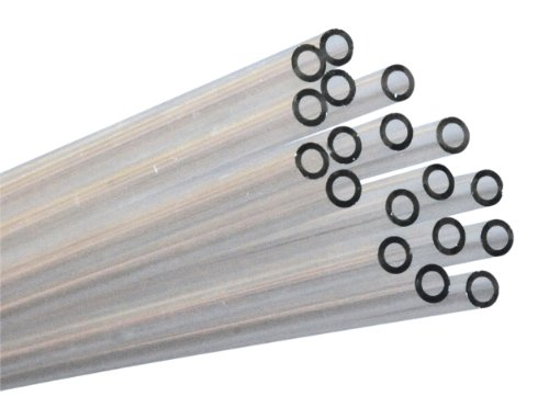Out Diameter 6mm Pack of 10 Glass Tubing 12 Inch Long Borosilicate Glass