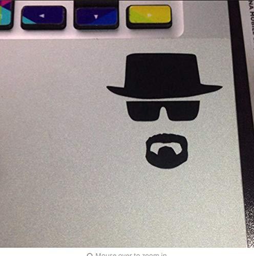 Preisvergleich Produktbild Zjxxm 2Pcs / Lot Brechen Bad Heisenberg Aufkleber - Vinyl Aufkleber Für Macbook Air / Pro Laptop 8 * 8Cm