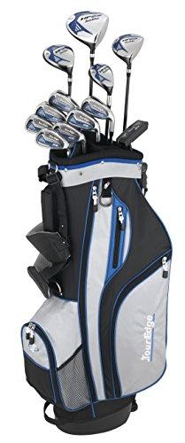 Tour Edge HP25 Men's Complete Golf Club Set, Uniflex Plus Right Hand