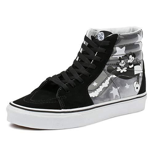 Vans Disney SK8-Hi Plane Crazy Black/White Sneakers-UK 5
