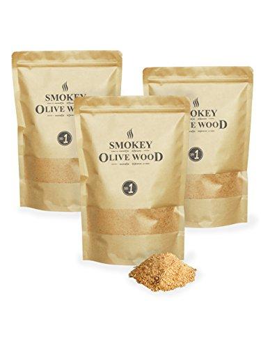 Smokey Olive Wood SOW-131 houtmeel voor olijfhout en beuken, bruin grijs