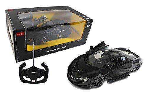 FMTStore 1/14 Scale McLaren P1 Radio Remote Control Model Car R/C RTR Push Button Open Doors (Black)