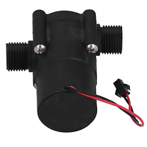 Generador de Agua, Generador de Alta Potencia Hidroeléctrico Tubular de CC de 3,6 V, con Rosca Macho G1/2in y Carcasa de Plástico Completamente Sellada, para Alimentar Una Ducha Luminosa, Pantalla LED