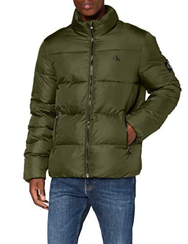 Calvin Klein Jeans Herren Puffer Jacket Jacke, Deep Depths, XL