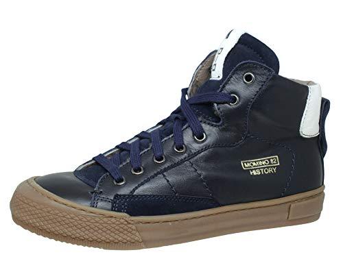 Momino 2123M Sneakers Chucks Lammfell, Blau (81969 Navy), 36