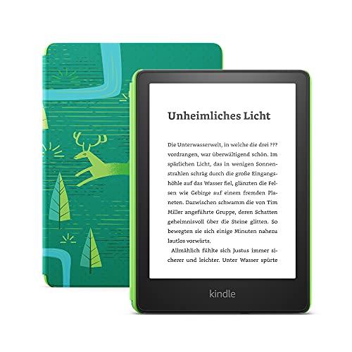 Wir stellen vor: Kindle Paperwhite Kids – Mit über 1.000 Kinderbüchern, kindgerechter Hülle und 2 Jahren Sorglos-Garantie – Juwelenwald