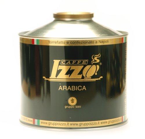 3 x Izzo Kaffee Espresso - 100% Arabica, 1000g Bohnen Dose