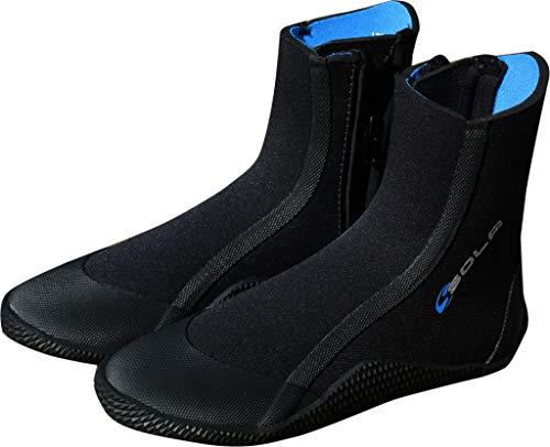 Sola Sports Unisex's 5mm Zip Boot, Zwart, 9 UK ADULT