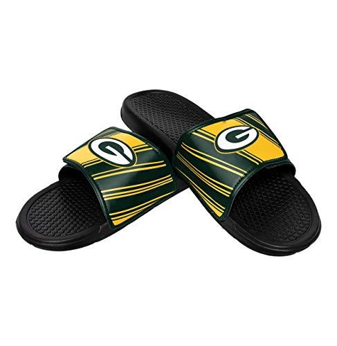 NFL Mens Legacy Sport Slide, Green Bay Packers, Medium / 9-10, Team Color