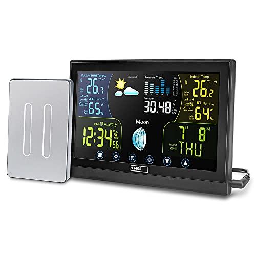 Emos Select estación meteorológica por radio con...