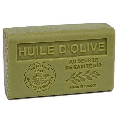 Maison du Savon de Marsella - Jabón de aceite de oliva con manteca de karité (125 g)