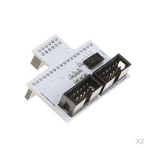Onior 2x 3D Printer LCD Panel Board Switch RAMPS-FD Converter for Adruino DUE Circuit board