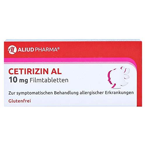 CETIRIZIN AL 10 mg Filmtabletten 20 St