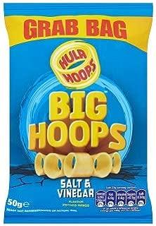 Hula Hoops Big Hoops Salt & Vinegar Flavour Potato Rings (50g x 36)